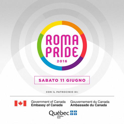 Ambasciata del Canada e Delegazione del Quebec sostengono il Roma Pride 2016
