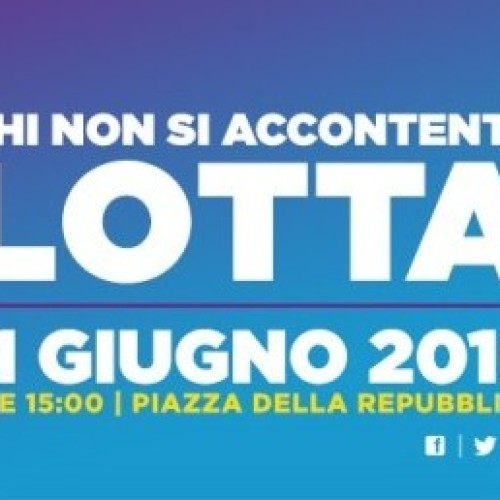 "Documento Politico: 11 giugno 2016 ""Chi non si accontenta lotta!"""