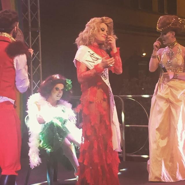 Vince il concorso Drag per una notte MOONLIGHT GayCroisette GayCenterhellip
