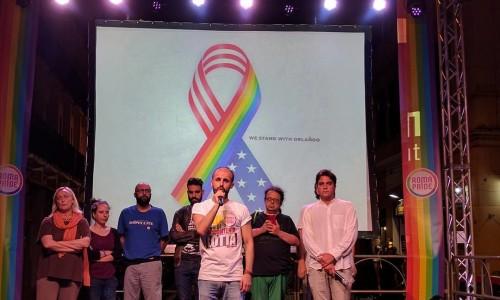 Minuto di silenzio al Roma Pride – 'Gay Croisette'