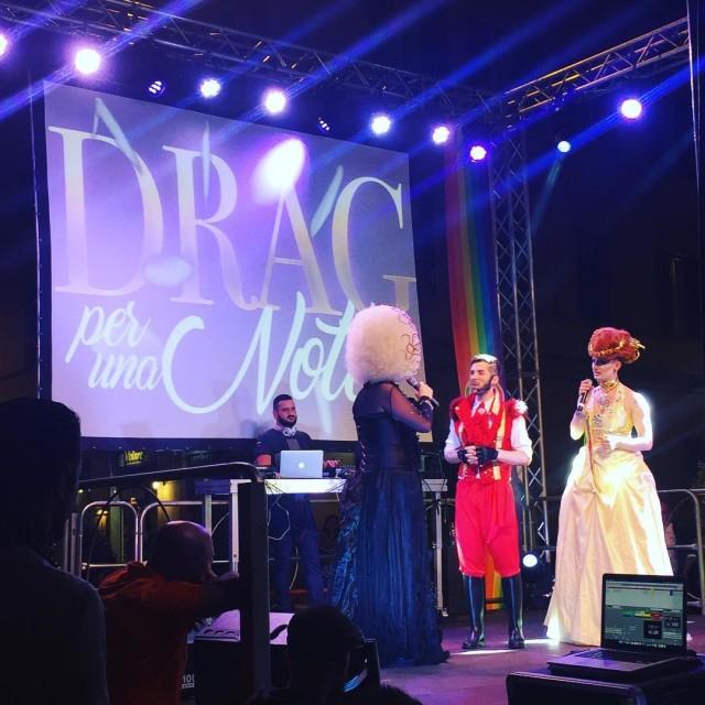 iniziato ora il concorso Drag per una notte presentanohellip