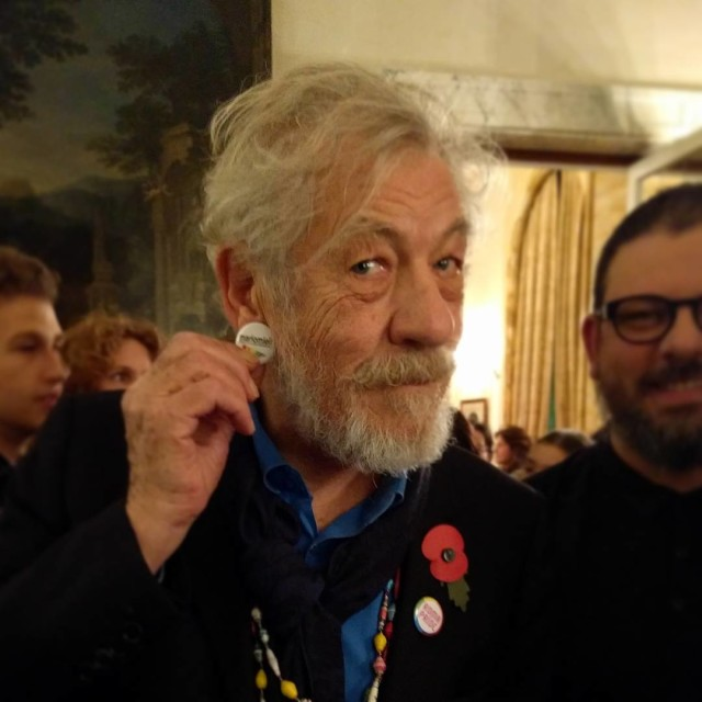 Sir ianmckellenofficial accepted to take part at the next RomaPridehellip