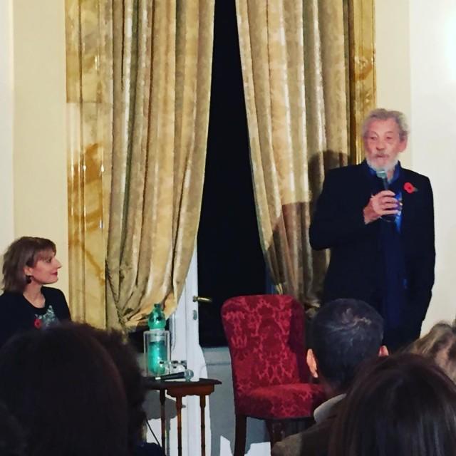 Il Roma Pride al talk Diversity A Conversation with ianmckellenofficialhellip