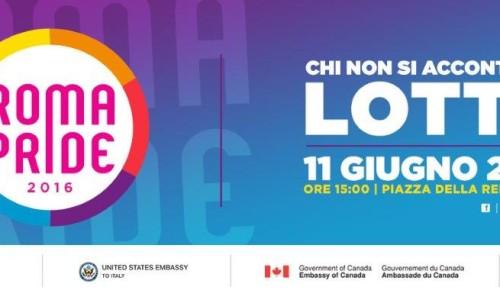 Roma Pride il Comune di Roma concede il Patrocinio. Il Portavoce del Roma Pride: riconosciuti i valori della Manifestazione.