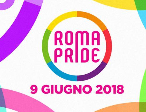Il Roma Pride annuncia la data per il 2018