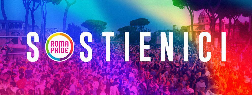 Roma Pride 2018 - Sostienici