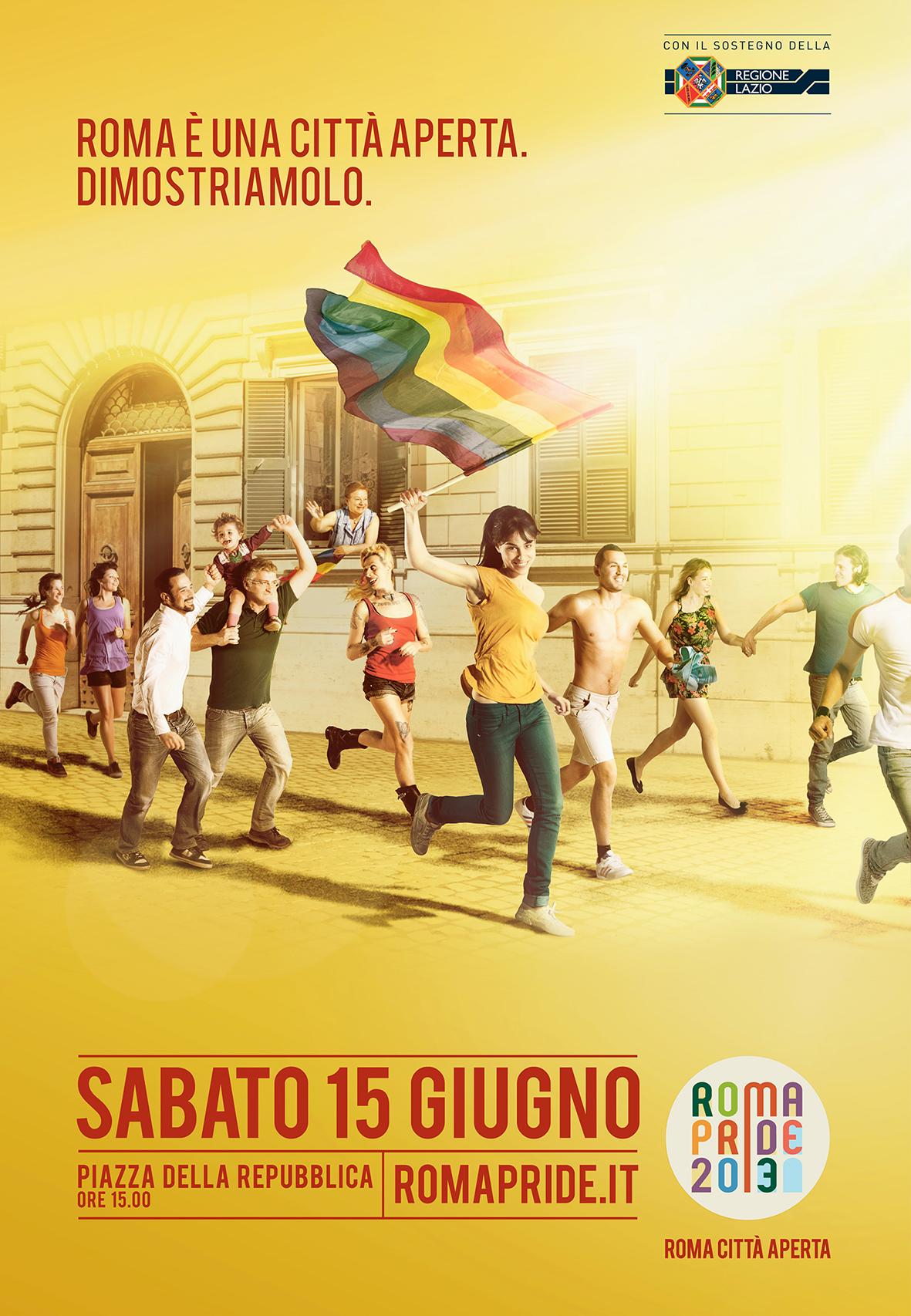 Roma è una città aperta. Dimostriamolo.