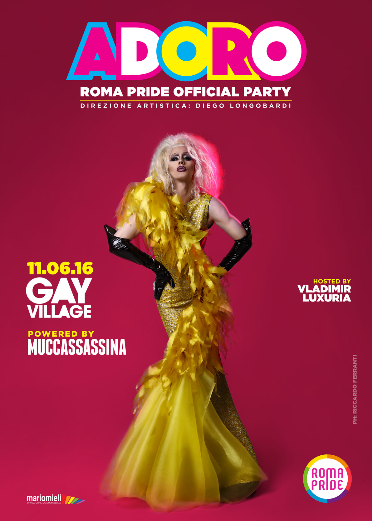 Adoro - Roma Pride Official Party