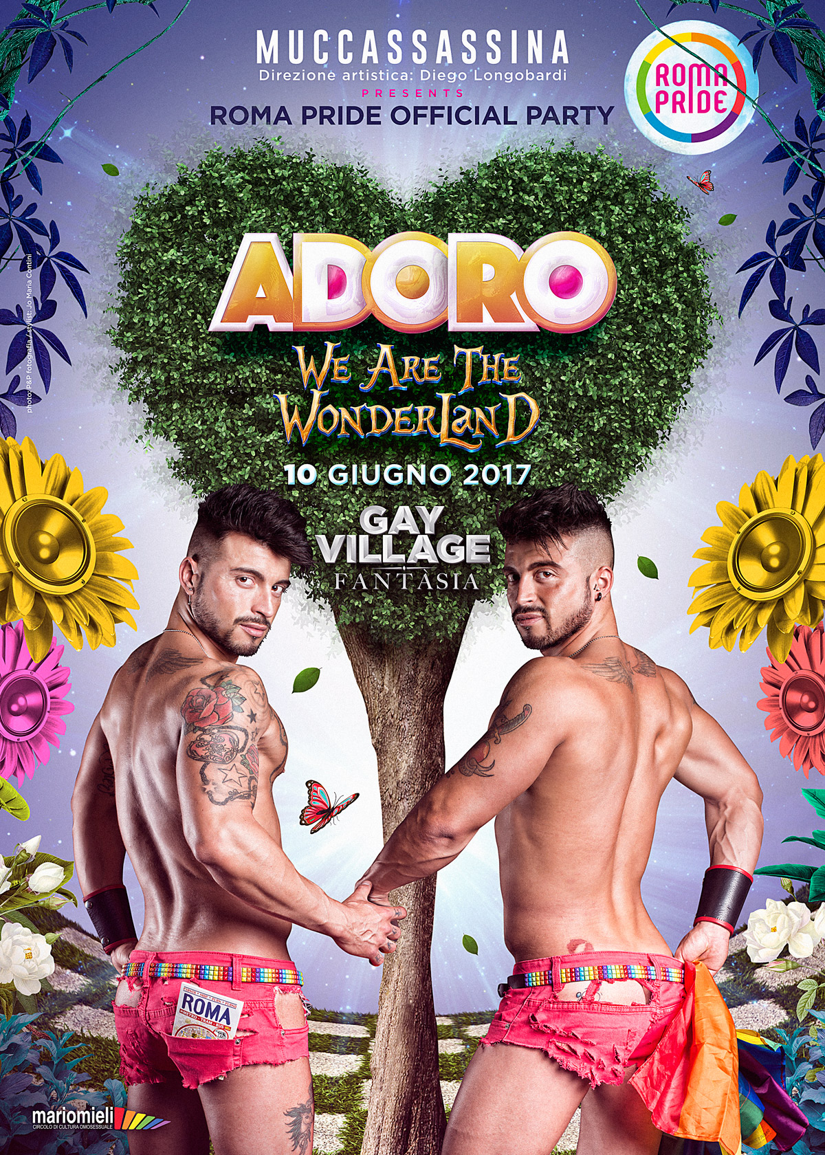 Adoro - Roma Pride Official Party