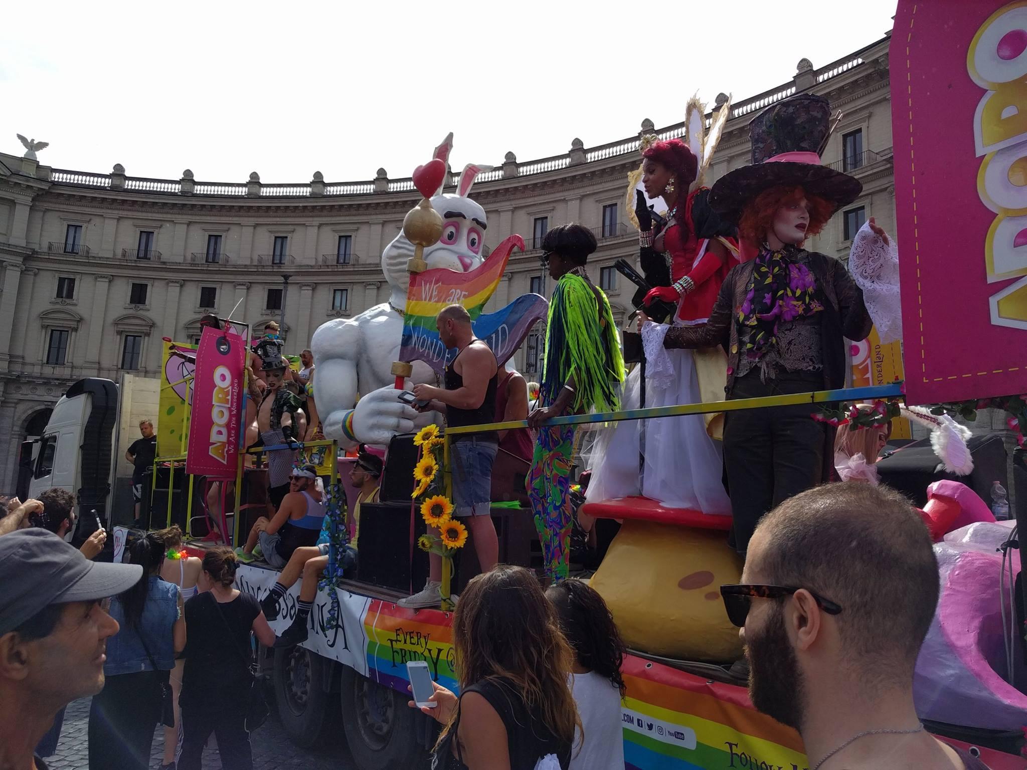 Roma Pride 2017 - Parata - Scopriamoci - Corpi senza confini