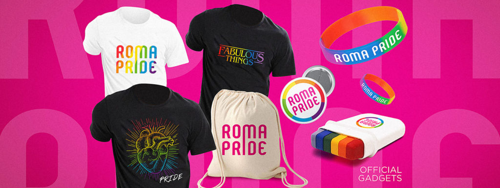 Roma Pride - Official Gadgets
