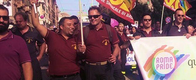 USB VVF al Roma Pride