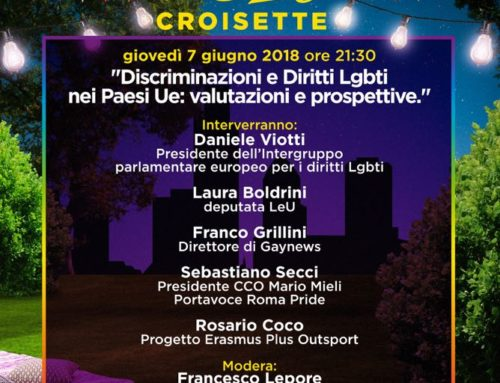 07/06/2018 – Discriminazioni e Diritti Lgbt+ nei Paesi UE: valutazioni e prospettive