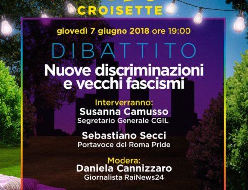 07/06/2018 – Nuove discriminazioni e vecchi fascismi
