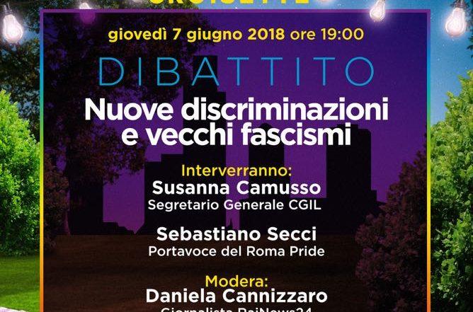 Gay Croisette - DIBATTITO - Nuove discriminazioni e vecchi fascismi