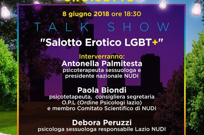 Gay Croisette - TALK SHOW - Salotto erotico LGBT+