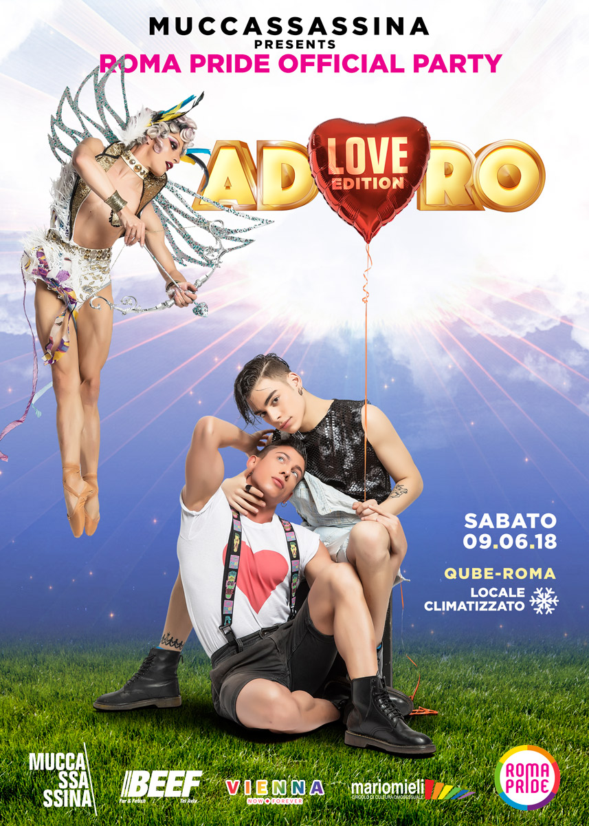 Adoro - Roma Pride 2018 Official Party