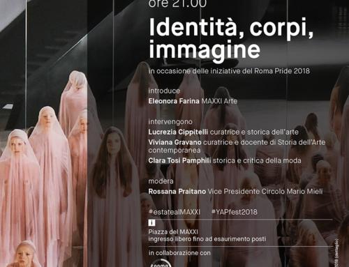 13/06/2018 – Identità, corpi, immagine