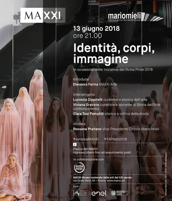 MAXXI - Identità, corpi, immagine