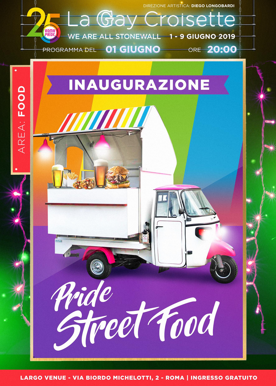 Gay Croisette - Inaugurazione Street Food