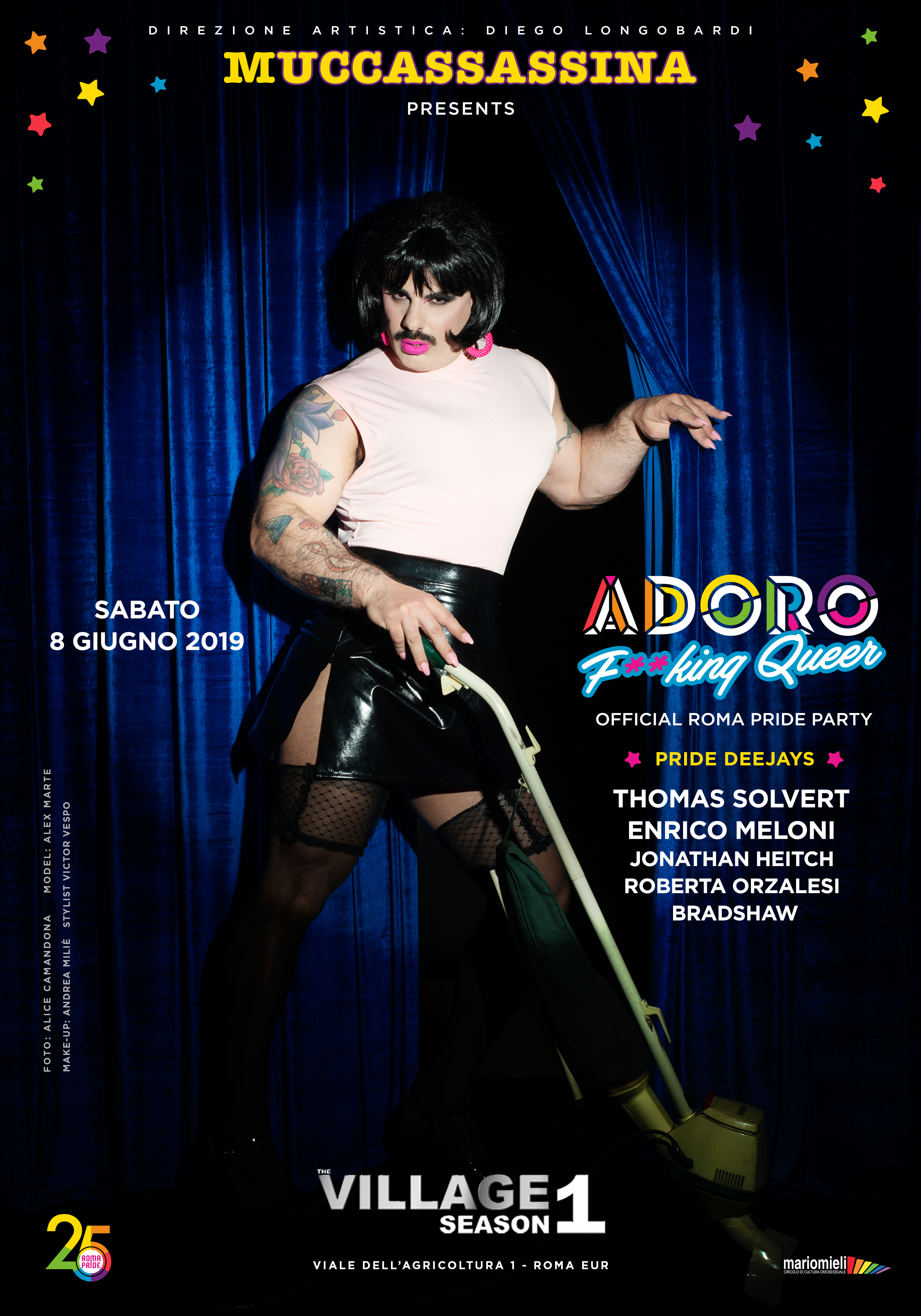 Adoro F**king Queer Edition - Roma Pride Official Party