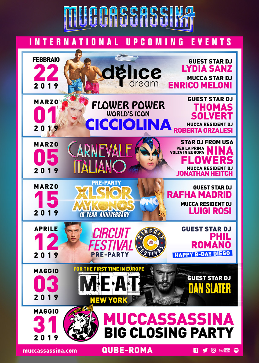Upcoming International LGBTQIA+ Events in Rome