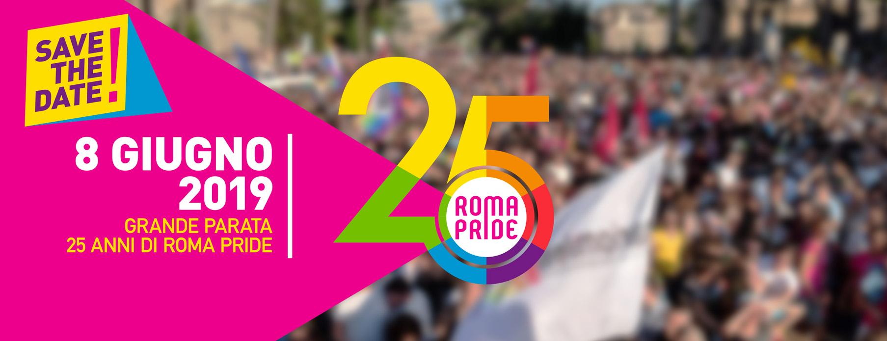 8 giugno 2019 - Roma Pride
