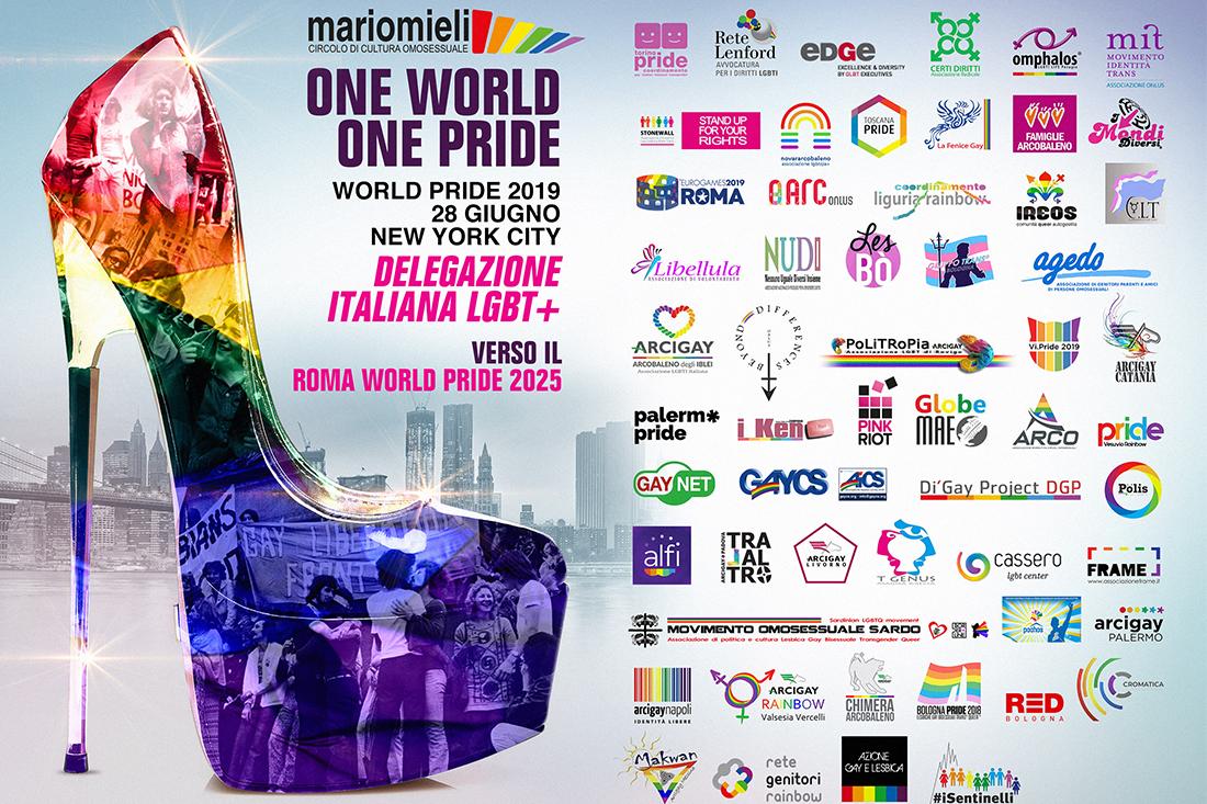 Roma Pride 2019 - Associazioni partecipanti al New York Pride