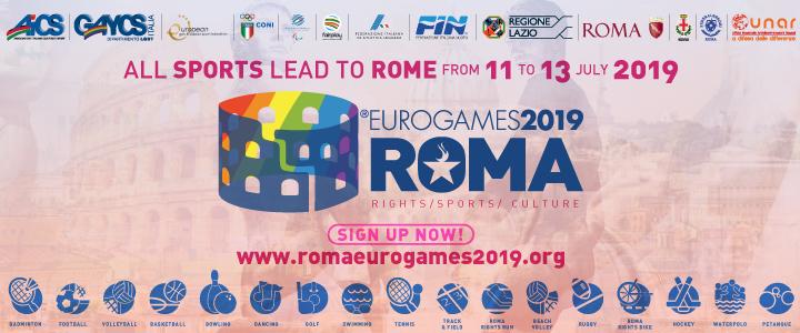 Roma Pride 2019 - Eurogames Roma