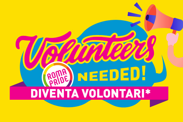 Diventa volontari*