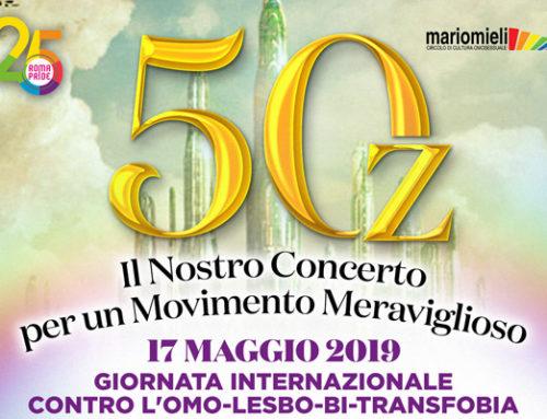 17/05/2019 – Il nostro concerto per un movimento meraviglioso