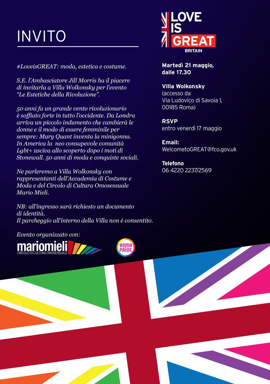 Roma Pride 2019 - LoveIsGreat