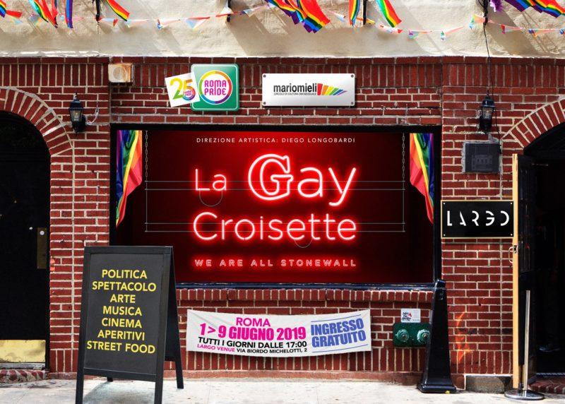 Roma Pride 2019 - Gay Croissette
