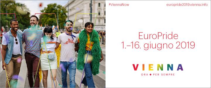 Ci vediamo a Vienna per l'Euro Pride del 2019