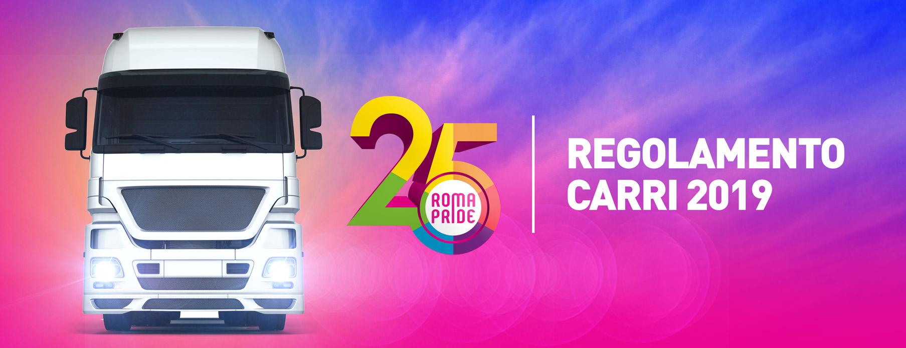 Roma Pride 2019 - Regolamento Carri