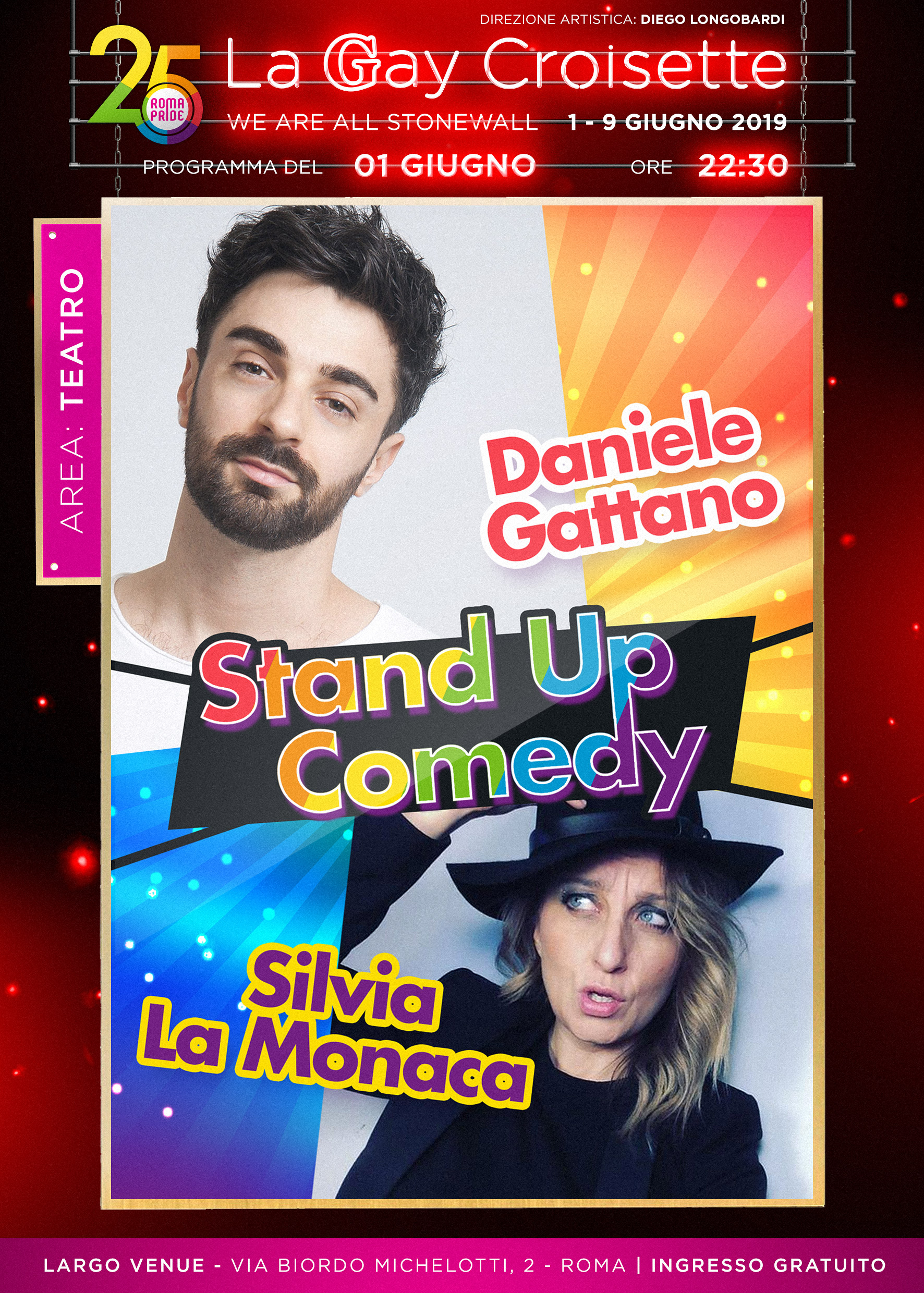 Gay Croisette - Stand Up Comedy