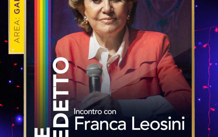 Gay Croisette- Incontro con Franca Leosini