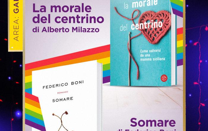 Gay Croisette - Presentazione romanzi di Alberto Milazzo e Federico Boni
