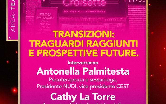 Gay Croisette - Transizioni: traguardi raggiunti e prospettive future