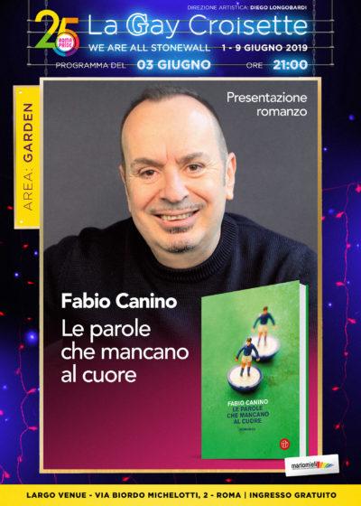 Gay Croisette - Presentazione Romanzo di Fabio Canino