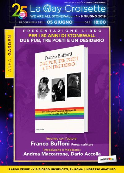 Gay Croisette - Presentazione libro di Franco Buffoni