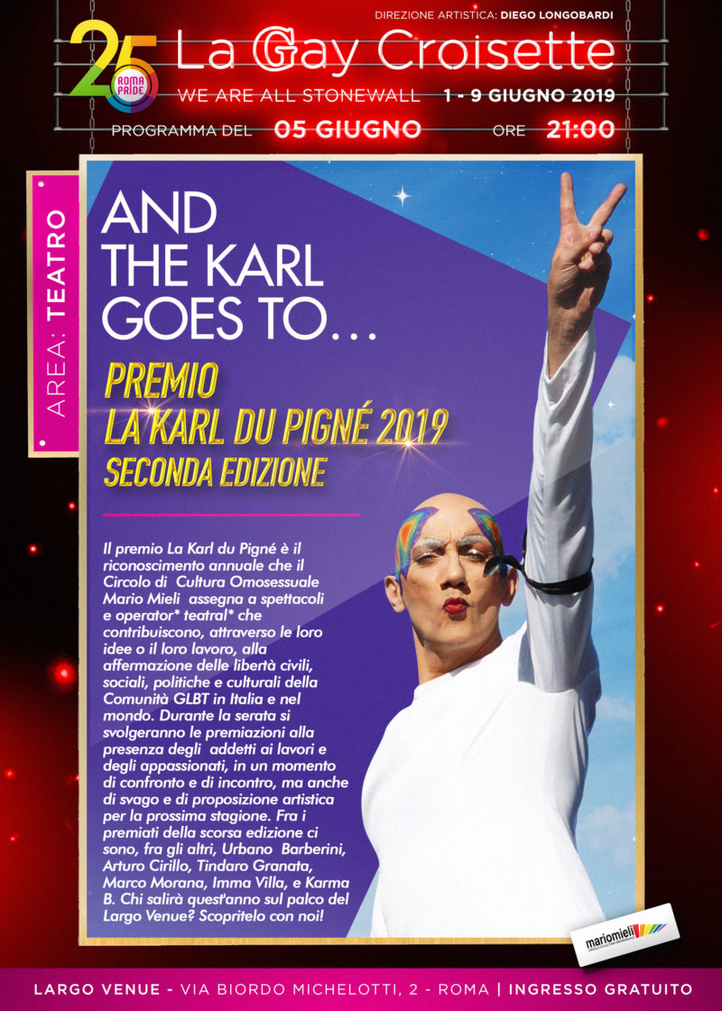 Gay Croisette - Premio La Karl Du Pigné
