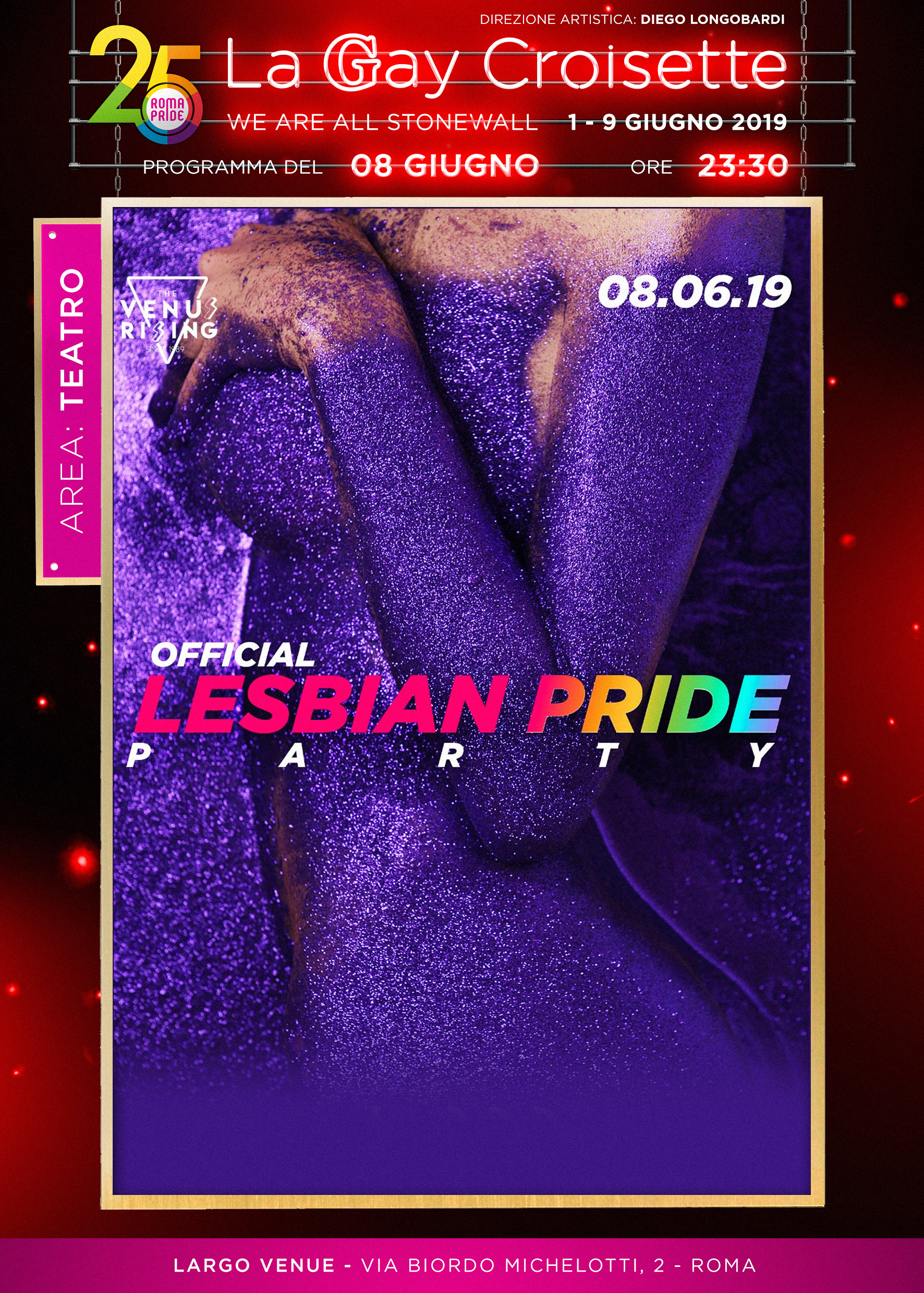 Gay Croisette - Official Lesbian Pride Party