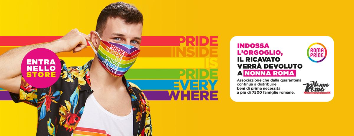 Visita lo Store Ufficiale del Roma Pride 2020