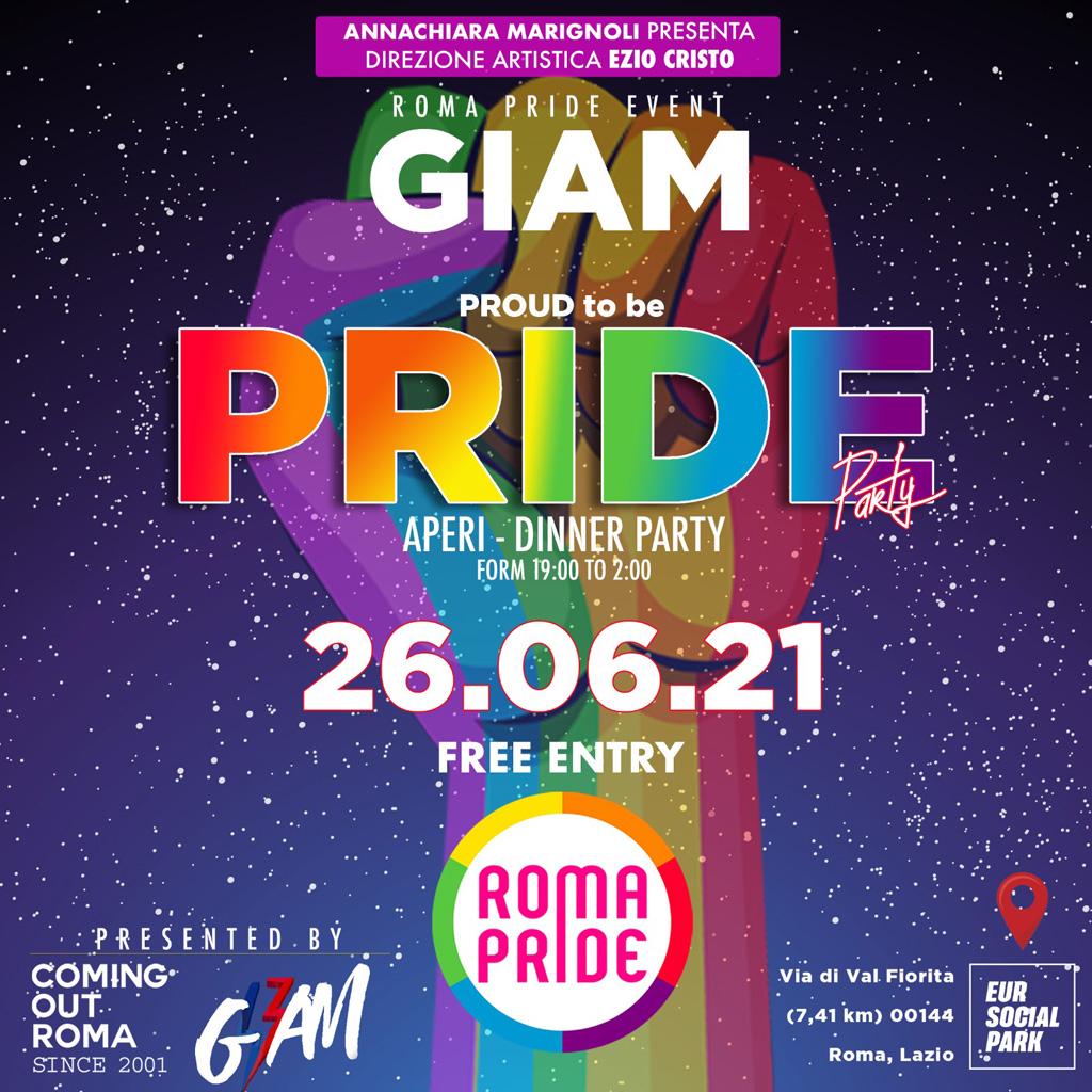 Roma Pride 2021 - In Town