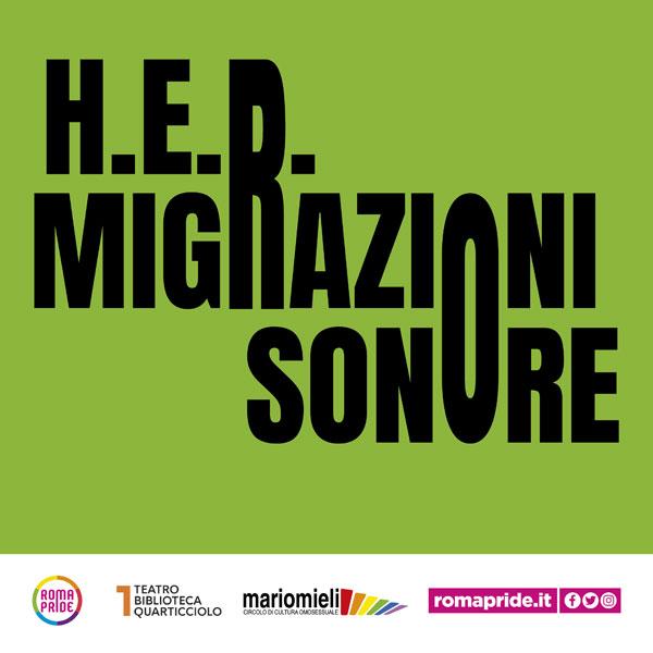 Roma Pride 2021 - Migrazioni Sonore