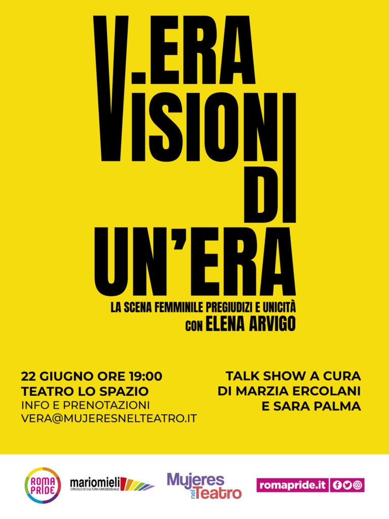 Roma Pride 2021 - V.ERA Visioni di un'Era