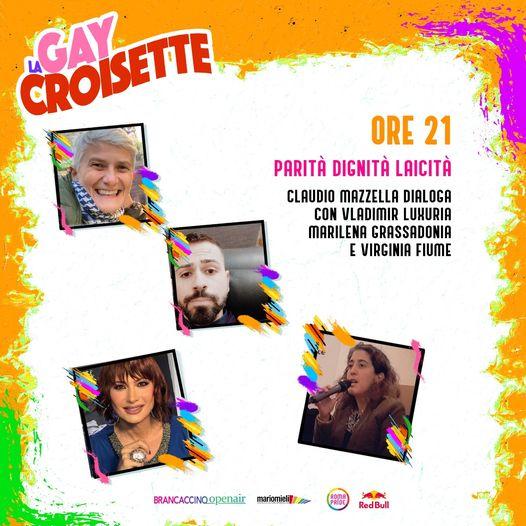 Roma Pride 2021 - GayCroisette del 25/06/2021