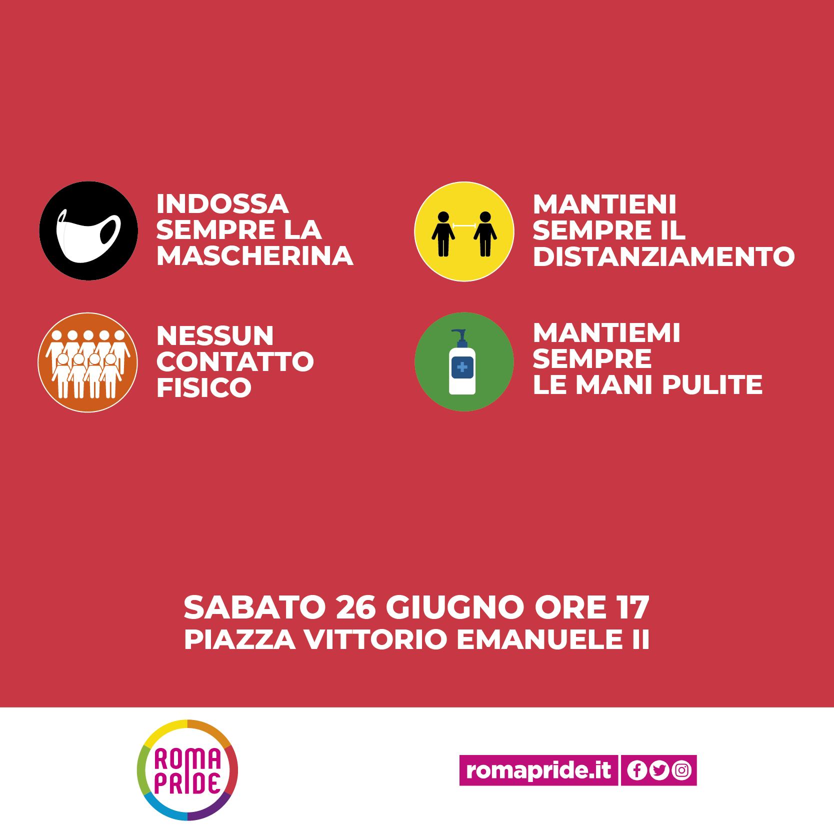 Roma Pride 2021 - Come Partecipare