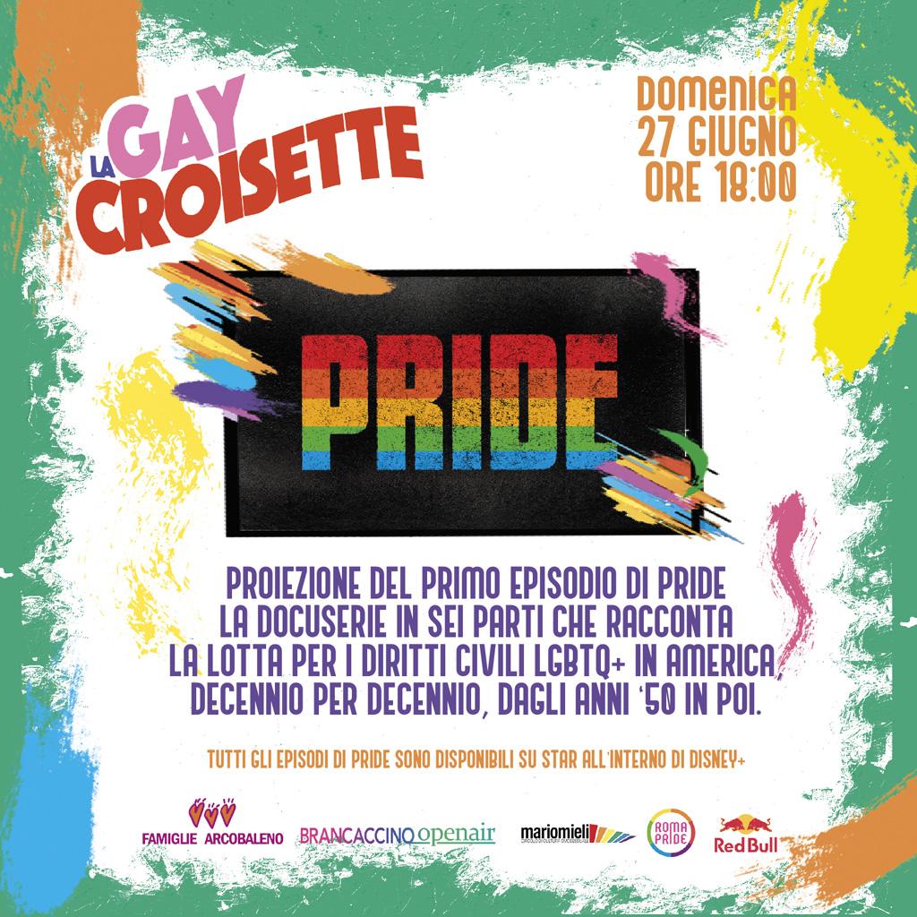 Roma Pride 2021 - GayCroisette del 27/06/2021